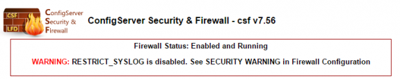 CSF-Restrict-syslog-is-disabled